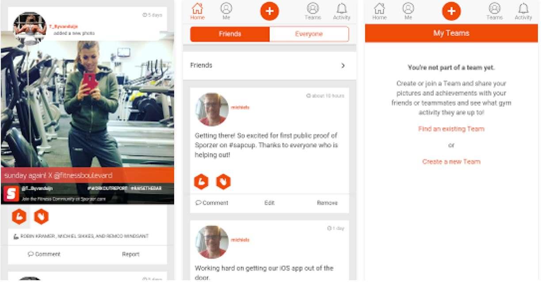 Sporzer sport-apps