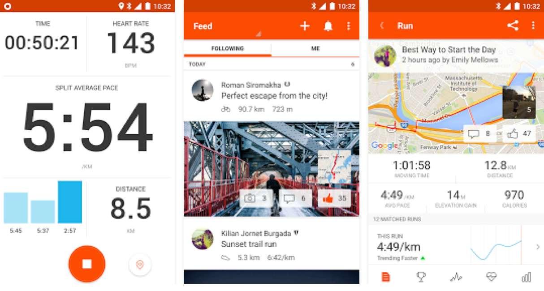 Strava sport-apps