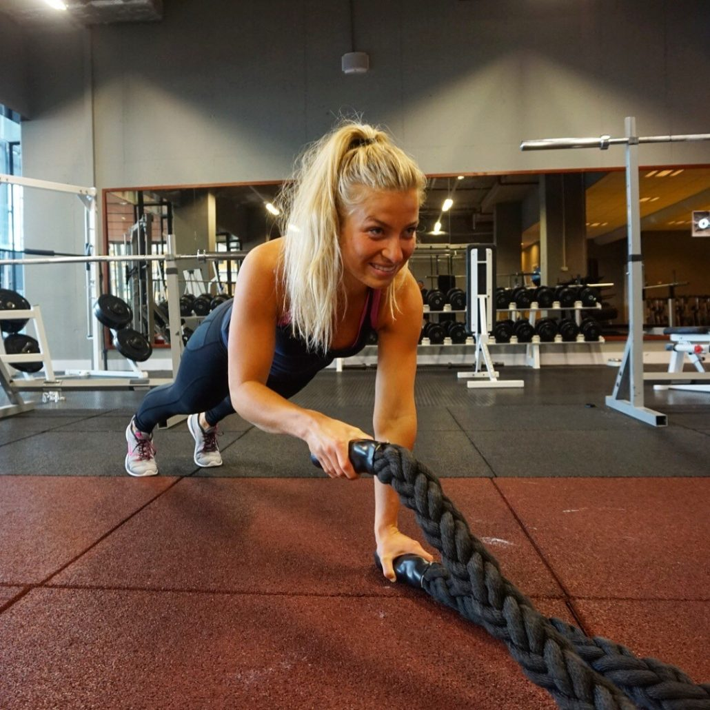 Personal trainig Fit met Iris - love2workout