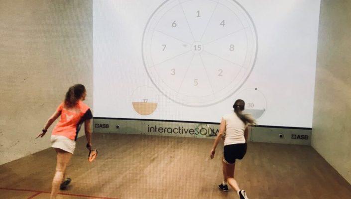 interactief squashen